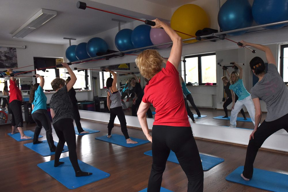 Flexi-Bar Training stärkt die Tiefenmuskulatur