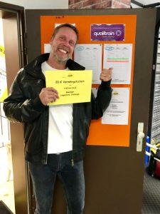 Stephan Baum, Gewinner der MedSport Liegestütz-Challenge