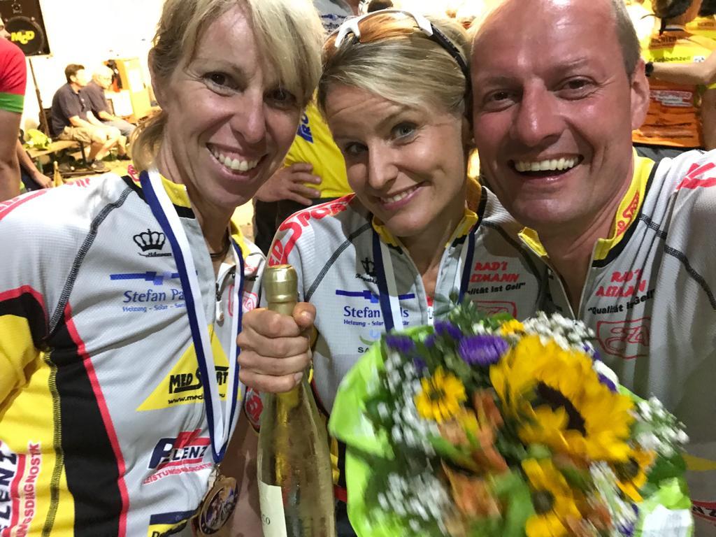 Petra Martin, Katja Walz und Markus Wagner